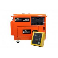 Agregat prądotwórczy 10kVA B8000 1F DIESEL ATS