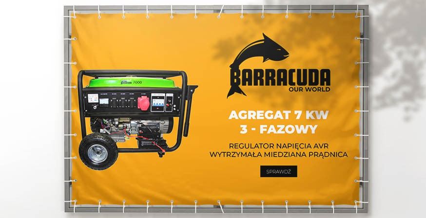 Agregat Barracuda 7 kW